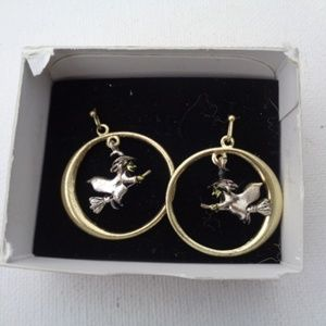 Halloween witch earrings New